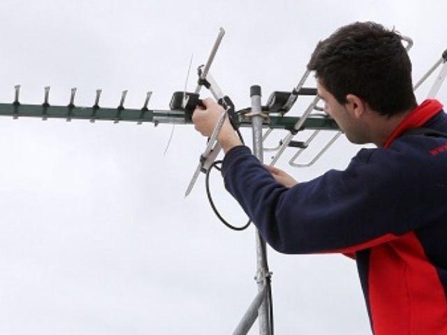 Instalación antena