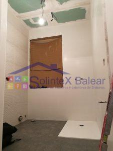 Instalación plato de ducha Mallorca
