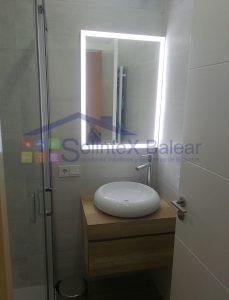 Instalación lavabo con mueble Mallorca