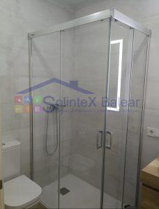 Instalación mampara ducha en Palma de Mallorca