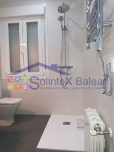 Instalación sanitario y plato de ducha Mallorca
