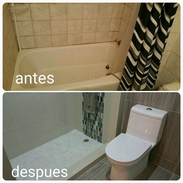 Cambio de bañera por plato de ducha Mallorca