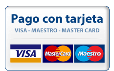 Aceptamos pago con tarjeta