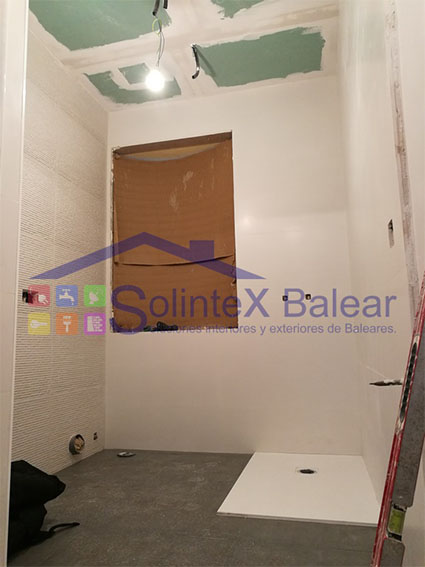 Reforma ducha Palma