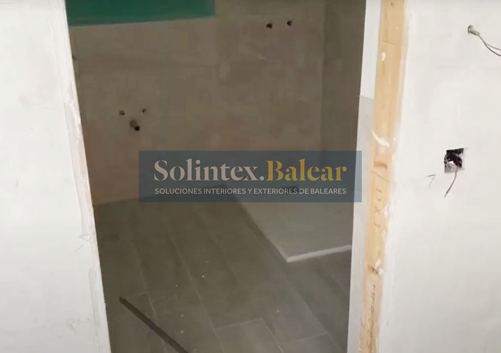 Embaldosado de baños Mallorca