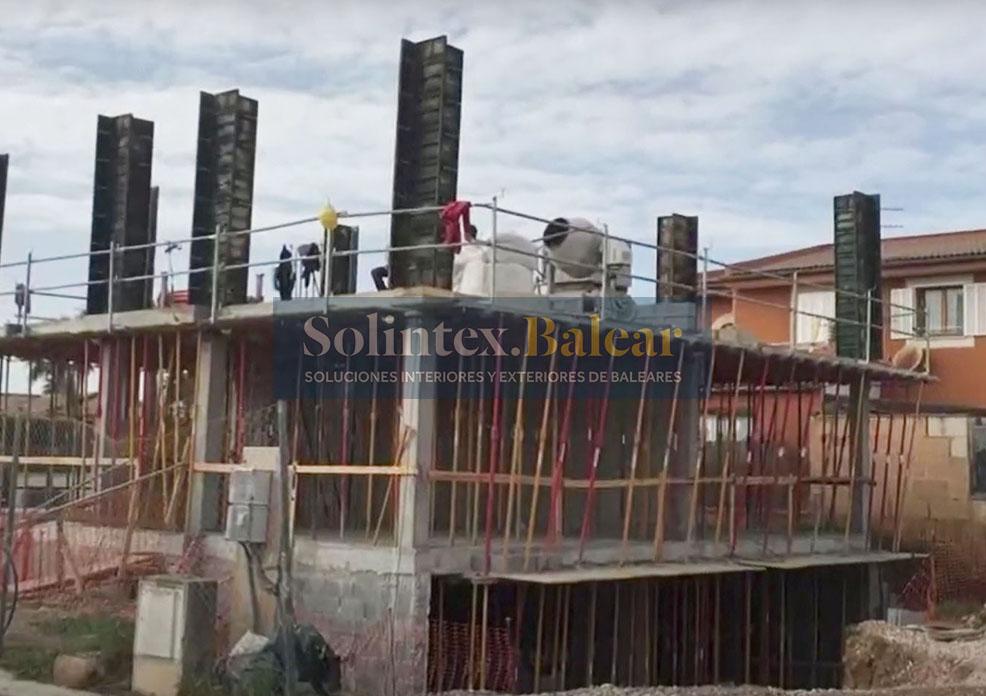 Encofrados pilares Mallorca