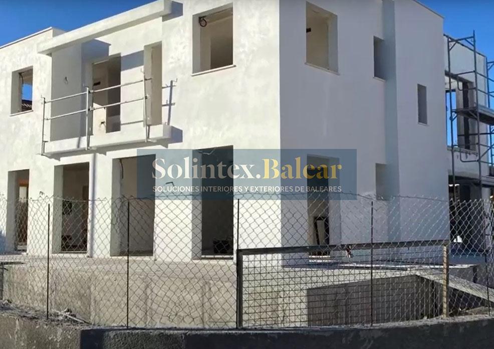 Enlucido fachadas Mallorca