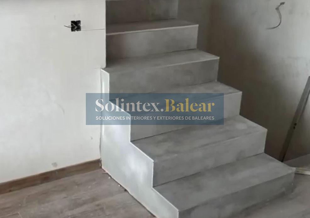 Construcción escaleras Mallorca
