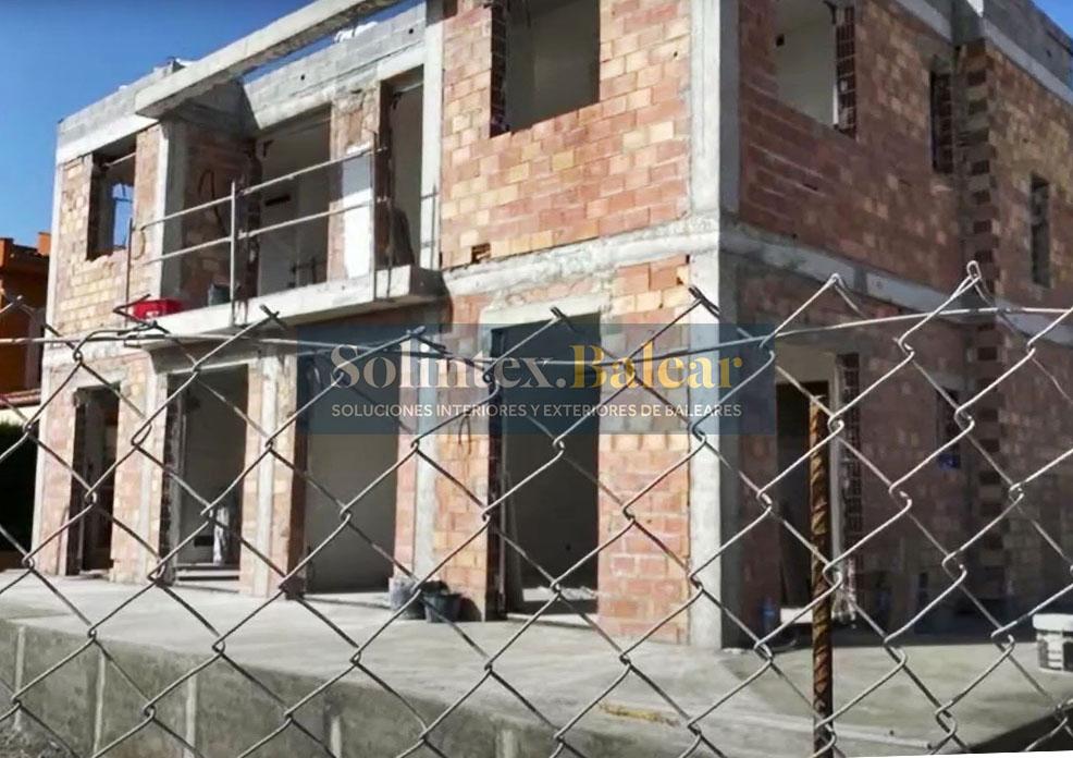 Construcción fachadas Mallorca