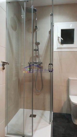 Instalación de mampara de ducha en Mallorca