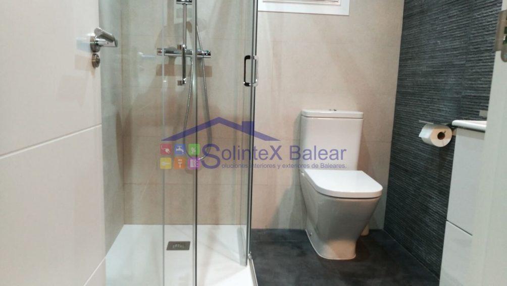 Instalación sanitario y ducha Mallorca