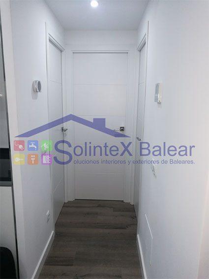 Instalación de puertas interiores en Mallorca