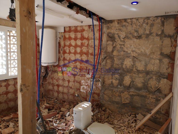 Demolición baño Sa Torre